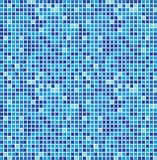 Mosaico sem emenda azul ilustração royalty free