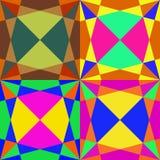 Mosaico sem emenda colorido Imagens de Stock