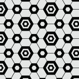 Mosaico sem emenda da telha do futebol do teste padrão Fotografia de Stock