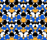 Mosaico sem emenda do favo de mel do sumário do teste padrão Foto de Stock