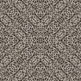 Mosaico senza cuciture d'intersezione del modello delle catene geometriche illustrazione di stock