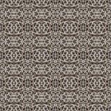 Mosaico senza cuciture d'intersezione del modello delle catene geometriche illustrazione vettoriale