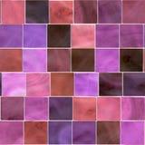Mosaico senza giunte delle mattonelle illustrazione di stock