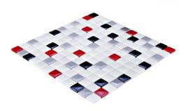 Mosaico, struttura, reticolo Fotografia Stock