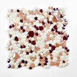 Mosaico, struttura, variopinta Fotografia Stock