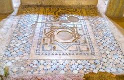 Mosaico sul piede dell'altare Fotografia Stock Libera da Diritti
