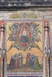 Mosaico sulla cattedrale della st Vitus Immagini Stock Libere da Diritti