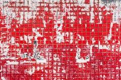 Mosaico, textura velha do mosaico, cartaz velho Imagens de Stock Royalty Free