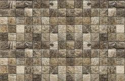 Mosaico textured bonito para o reparo da pedra natural marrom foto de stock royalty free