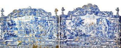 mosaico tradicional de Lisboa Fotografía de archivo