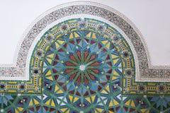 Mosaico tradizionale di Maroccan Fotografia Stock