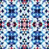 Mosaico triangolare BackgroundΠvariopinto illustrazione di stock