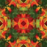 Mosaico triangolare BackgroundΠvariopinto Immagine Stock