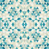 Mosaico triangular BackgroundÂŒ colorido ilustración del vector