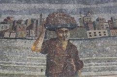Mosaico turco Imágenes de archivo libres de regalías