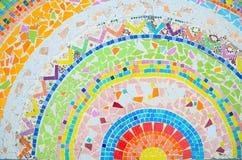 Mosaico variopinto Fotografia Stock
