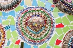 Mosaico variopinto Immagini Stock