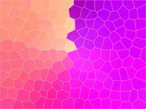 Mosaico variopinto illustrazione di stock