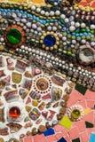 Mosaico variopinto fatto a mano illustrazione vettoriale