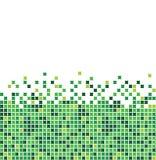 Mosaico verde Fotografía de archivo libre de regalías