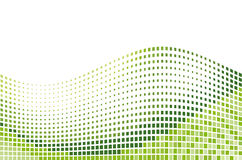 Mosaico verde Fotografia Stock
