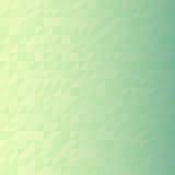 Mosaico verde del pixel del triangolo di Digital Fotografia Stock