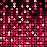 Mosaico vermelho, vetor Fotografia de Stock