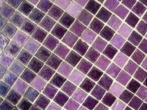 Mosaico viola Fotografia Stock