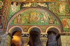 Mosaicos bizantinos - Ravena imagen de archivo
