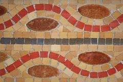 Mosaicos coloridos Imágenes de archivo libres de regalías