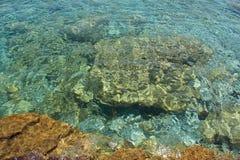Mosaicos da agua potável fotografia de stock