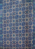 Mosaicos da telha de Iznik imagem de stock