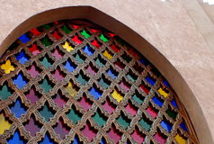 Mosaicos. De colores en templo de adoracion Stock Photography