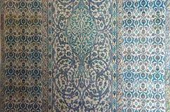 Mosaicos de Iznik en harén Fotos de archivo
