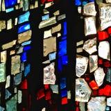 Mosaicos de la iglesia Fotografía de archivo libre de regalías