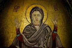 Mosaicos de la iglesia de Svete Petke Imagen de archivo