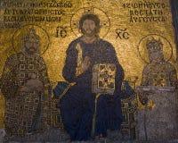 Mosaicos de Zoe de la emperatriz Fotografía de archivo