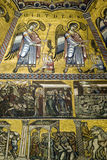 Mosaicos del techo de Florence Baptistery Imagen de archivo