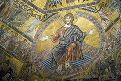 Mosaicos do teto de Florence Baptistery Imagem de Stock