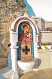 Mosaicos en el monasterio de Ostrog, Imágenes de archivo libres de regalías