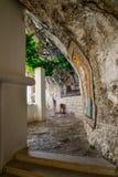 Mosaicos en el monasterio de Ostrog, Fotos de archivo