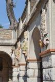 Mosaicos en la colina del castillo Imagenes de archivo