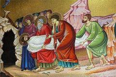 Mosaicos en la iglesia Fotos de archivo