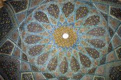 Mosaicos en techo Imágenes de archivo libres de regalías