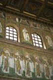 Mosaicos la nueva basílica del santo Apollinaris Imagen de archivo libre de regalías