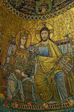 Mosaicos medievales Foto de archivo libre de regalías
