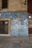 Mosaicos que decoram Rustem Pasha Mosque Imagens de Stock Royalty Free