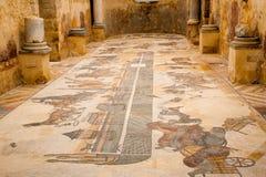 Mosaicos romanos Imagen de archivo