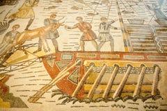 Mosaicos romanos Imágenes de archivo libres de regalías