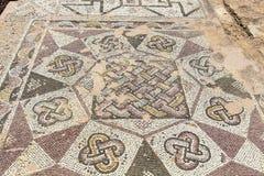 Mosaicos romanos em Chipre Imagem de Stock Royalty Free